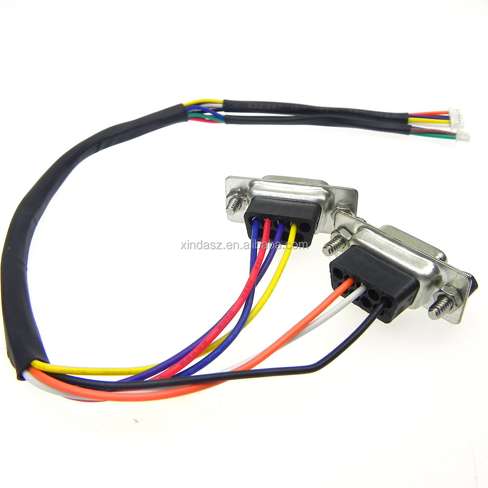OEM/ODM Customized 15pin connector vga CRT Y RS232 cable to DVI/mini usb otg ii adpater