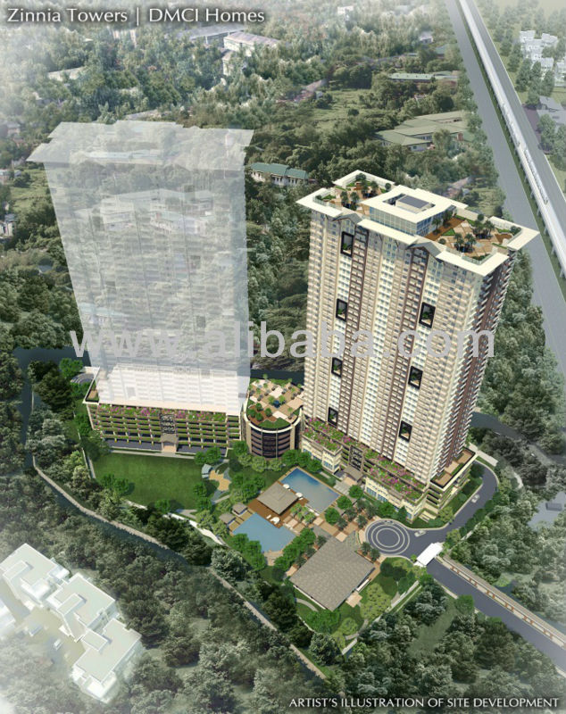 Zinnia Towers by DMCI Homes | for sale condominiums in north edsa munoz quezon city