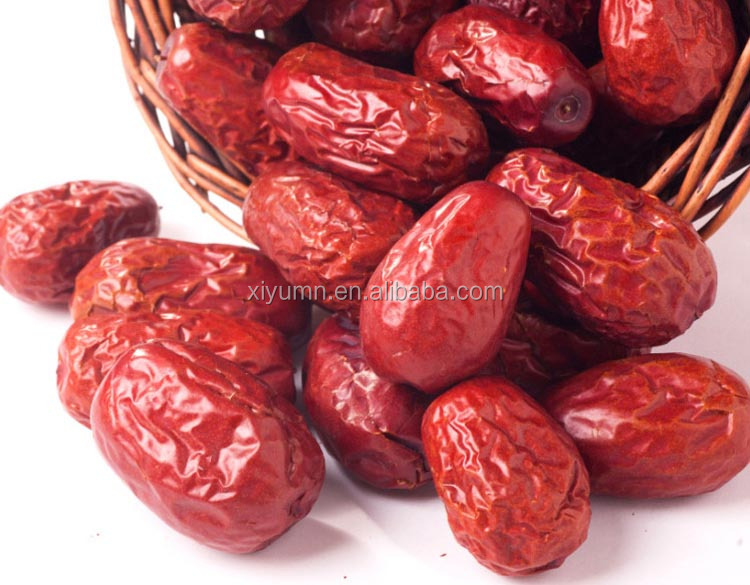 Best selling sweet and tasty red jujubes fruit