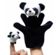 free sample Cute Cartoon Hand Puppet Baby Kid Animal Toys Finger Puppet plush panda hand puppet