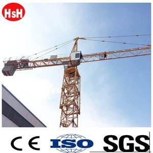 Tower Crane Price QTZ63 5610 Boom Length 56m prices of liebherr cranes