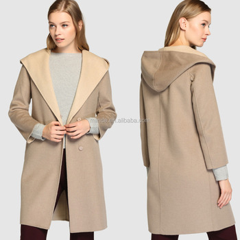 Manteau chaud beige