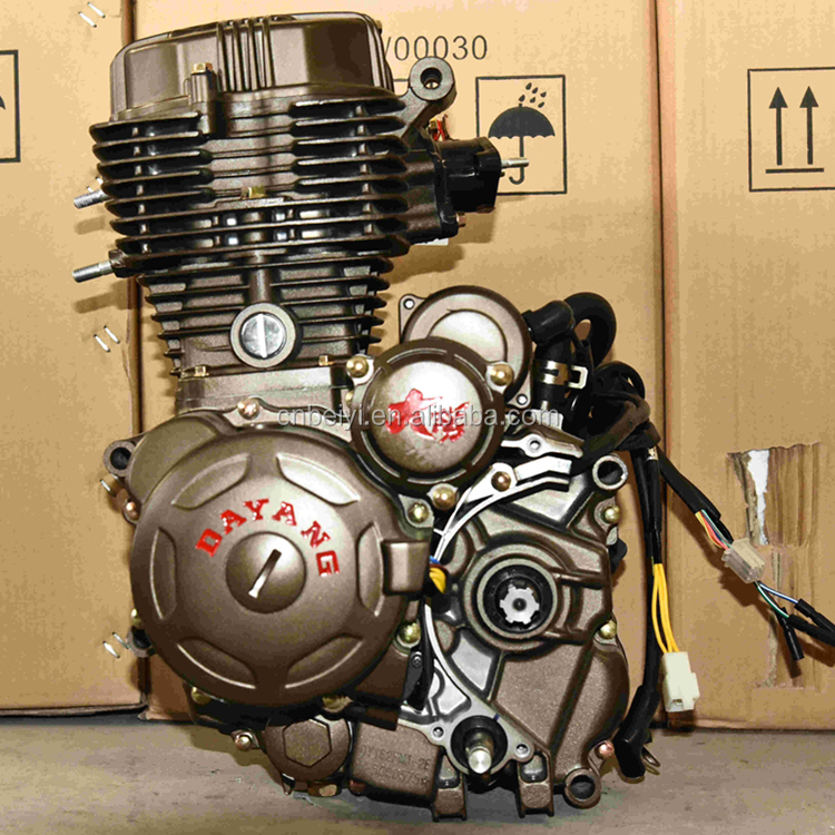 Single Cylinder 4 Stroke Air Cooled Lifan 150cc Motorcycle Engine