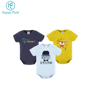 China wholesale newborn baby clothes short sleeves baby cotton romper set