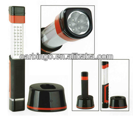 30+5PCS Telescopic LED Rechargeable Working Light