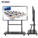 55 inch smart school products interactive tv touch screen whiteboard multimedia equipments board