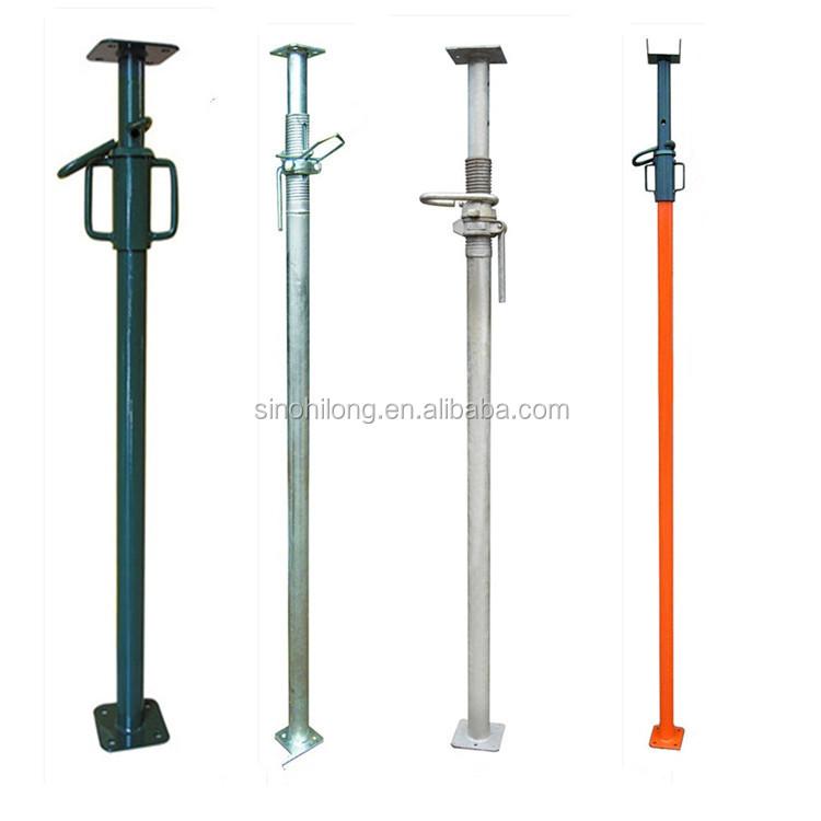 Adjustable Steel Post Shores : Adjustable steel brace shoring post buy