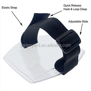 Safe-Card ID Armband Badge Holder Vertical