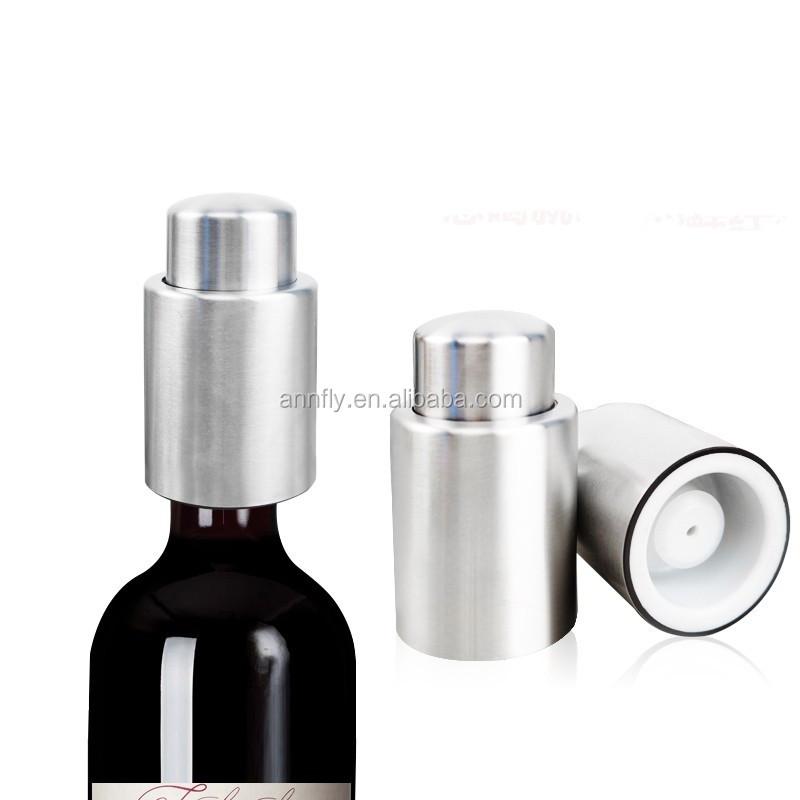 Edelstahl Vakuum Wein Flaschenverschluss Stopper Stopfen Flaschenstöpsel