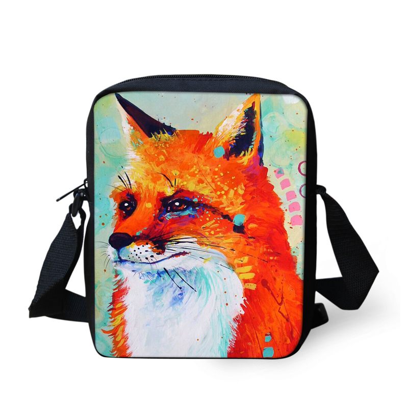 UNICEU Colorful Animals Purses Cross-body Bag Mini Shoulder Handbags for Girls Kids