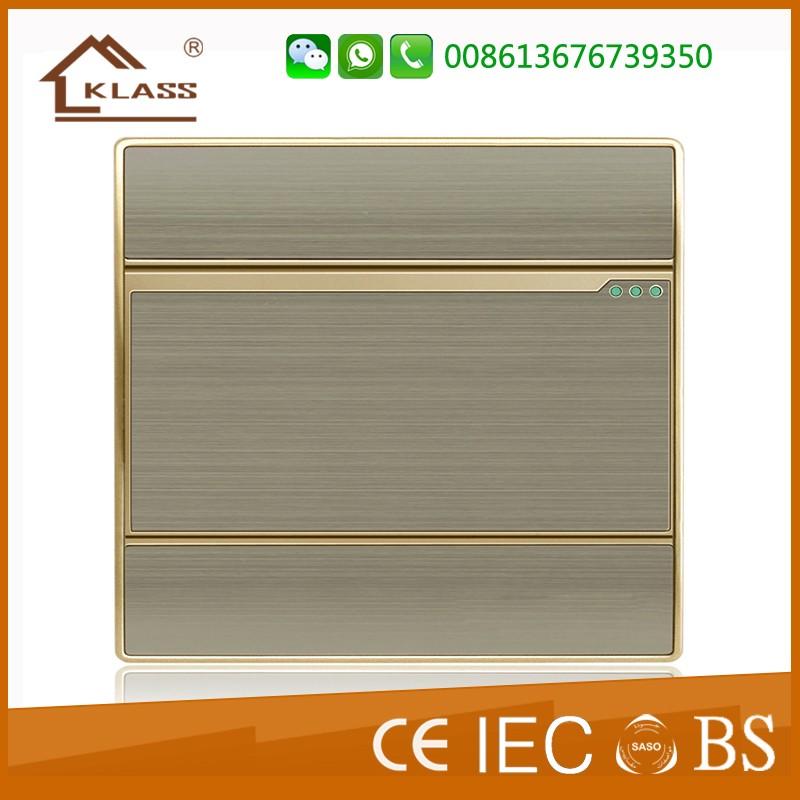 Wenzhou fábrica nuevo diseño de luz eléctrica interruptor de pared y hembra IEC60669
