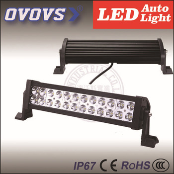 Hot Sales Off Road Light Bar 72w Led Roof Light For Police Car Suv ...