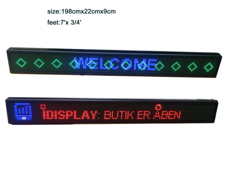 High Brightness P10 16x192 full color <strong>LED</strong> display