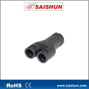 Saishun machine tool 3-way pipe joints Y way conduit fitting