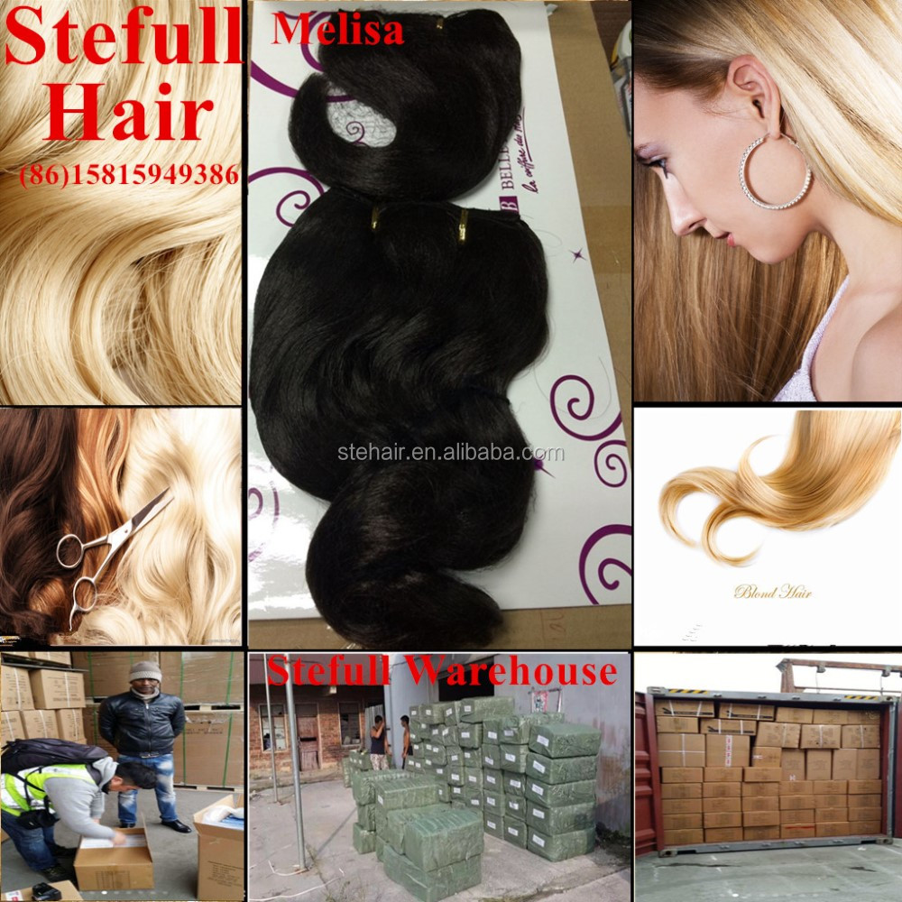 Stefull hair good quality no tangle japanese fiber luxury hair extensions