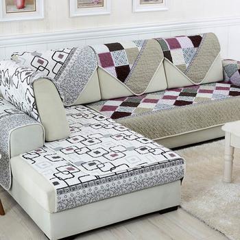 l shaped sofa covers Unikea 1 piece Double face Reversible Sectional Sofa Towel Seat  l shaped sofa covers