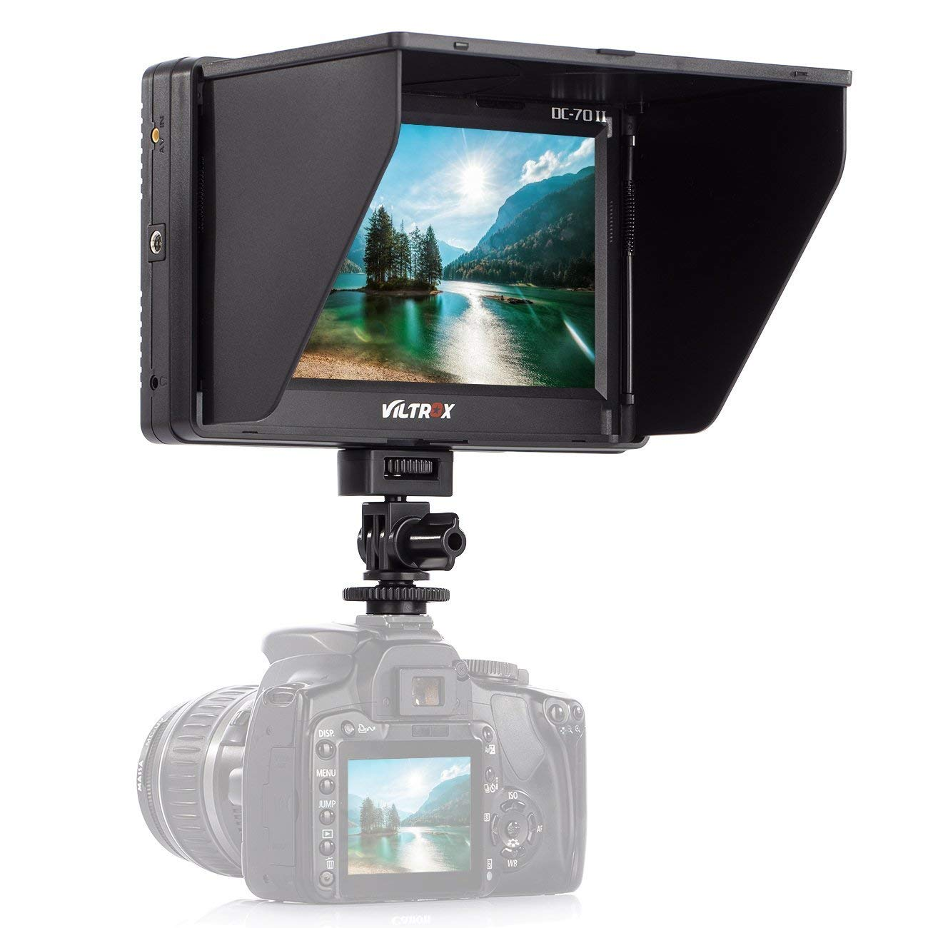 VILTROX TFT DC-70 II LCD HD multi 4 K video camera monitor per la macchina fotografica dslr