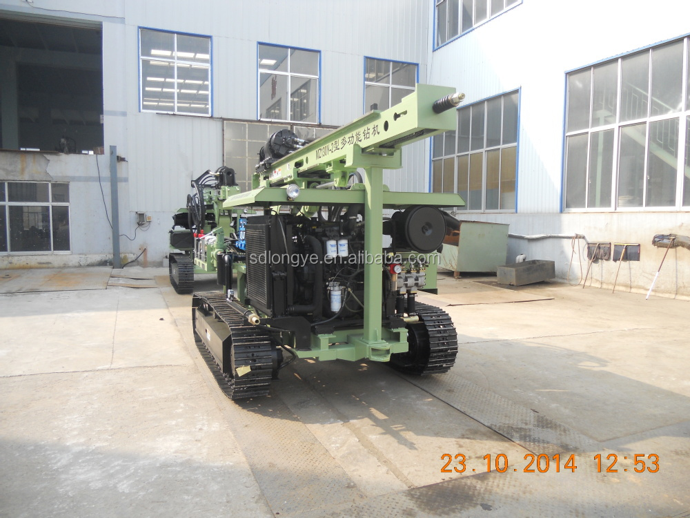 cheapest small auger and solar spiral pile drilling rig MZ130Y-2 manufacturer