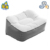 Custom PVC inflatable foot shaped pillow,square inflatable pillow,inflatable leg rest pillow