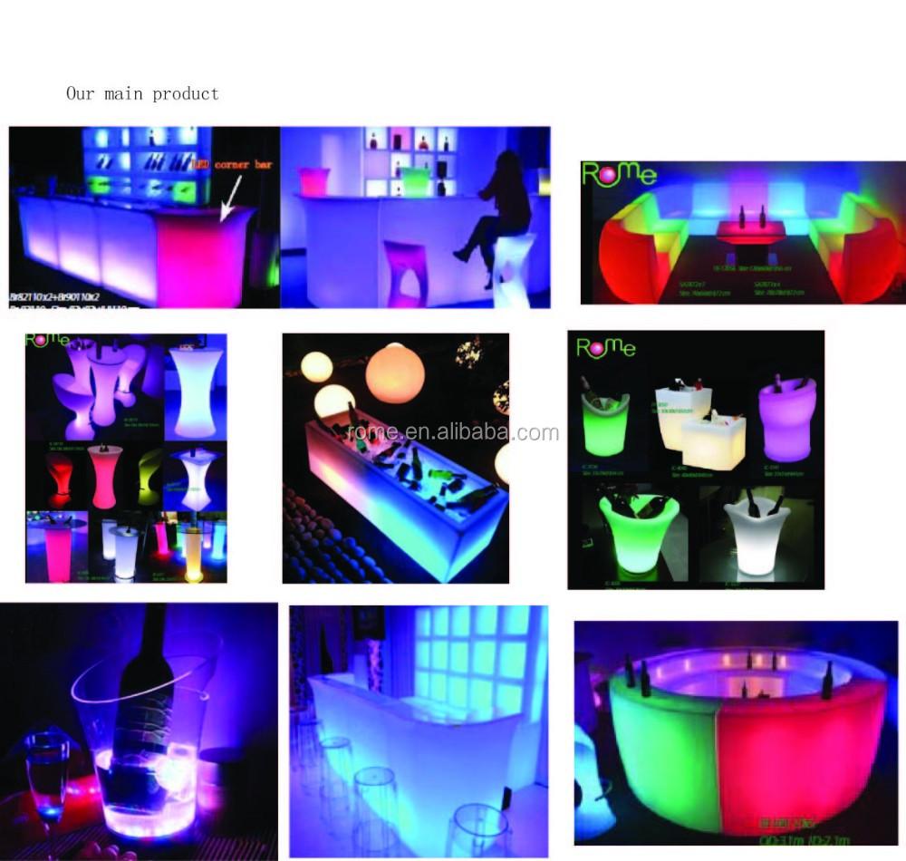 Led-licht Möbel Gerade Mund Bar Modernes Haus Theke Design ...