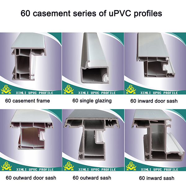 Upvc 80 casement window