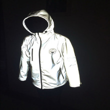 hi vision fashionable 3m motorcycle reflective running jacket