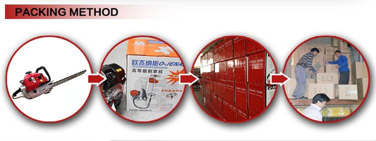 Vente chaude produits de ligne de jardin 52cc débroussailleuse cg520