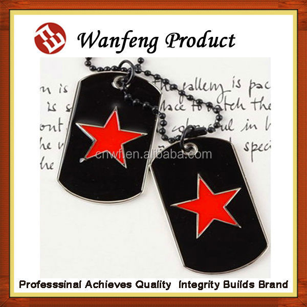 wholesale Cheap custom blank dog tag/embossed dog tag/military dog tags factory