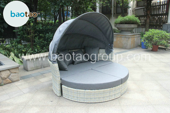 Wicker sofa daybed rattan garden outdoor furniture