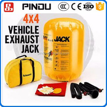 4ton auto lifting dual uitlaat pomp opblaasbare kleine auto air bag <span class=keywords><strong>bumper</strong></span> <span class=keywords><strong>jack</strong></span>