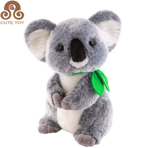 Custom plush stuffed koala bear soft toy for wholesale