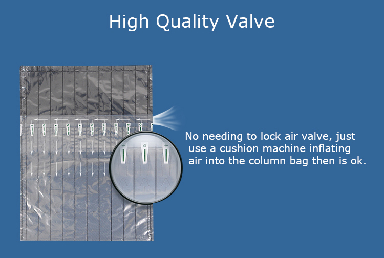 High Quality Inflatable Air Cushion Column Bubble Bags With Best Price In Sales Promotion