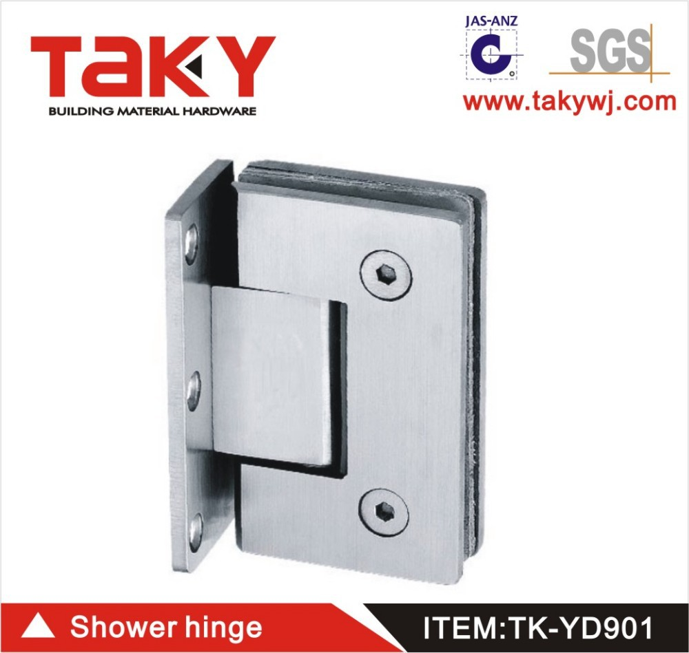 TK-YD901 frameless shower doors hardaware clamps hinges