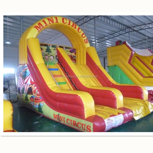 vinyl inflatable climbing bouncer and slide juegos inflables tobogan