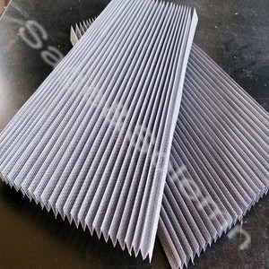 Light Weight Waterproof Organ Folding Fiberglass Window Screen