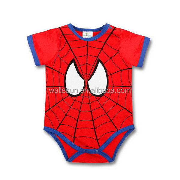 super man body suit infant clothing baby boys romper suits