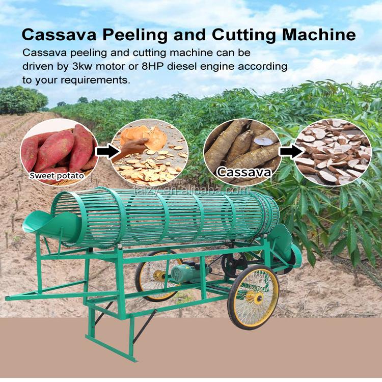 O mais baixo preço de casca de mandioca e máquina de lavar roupa para venda