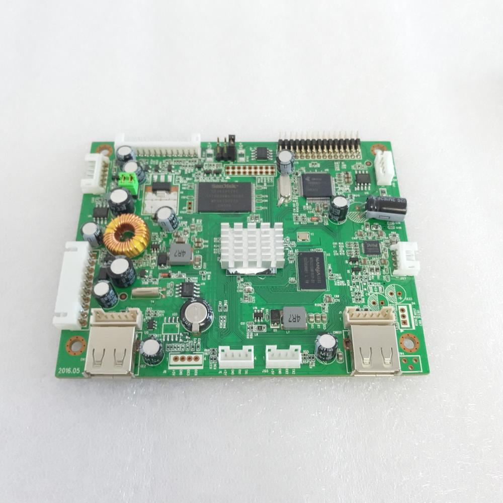 Gratis CMS Full HD USB Netwerk Reclame media decoder Board lcd display board