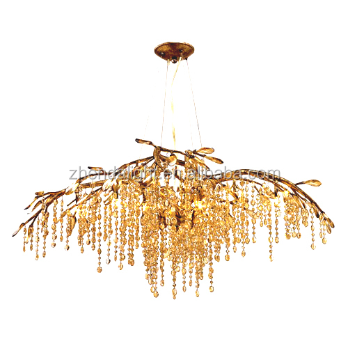 <strong>Modern</strong> crystal chandeliers pendant lighting for home decor
