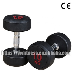 wholesale professional gym PU dumbbell for bodybuilding