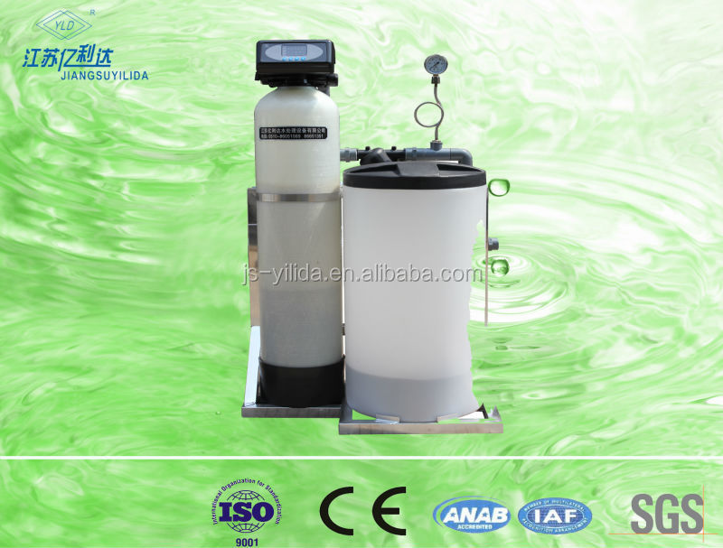 Residential pure water filter use water soften machine, Ion-exchange water softener remove hardness