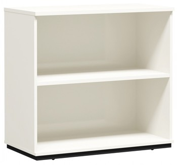 melamine panel filling storage bookshelf with 2 layer modular home office furniture