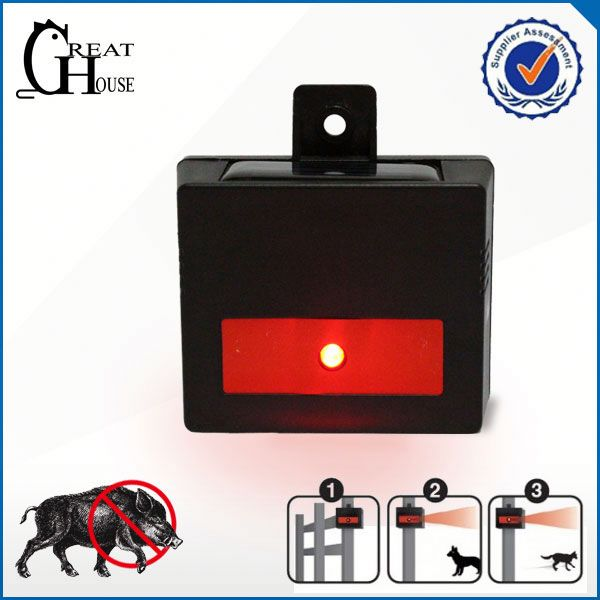Solar charge ultrasonic squirrel trap made in china