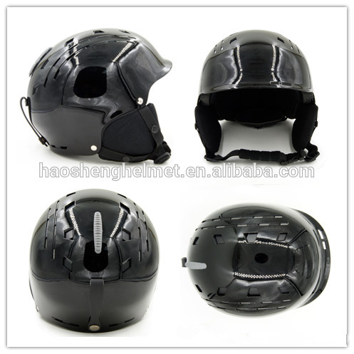custom skiing safety helmet