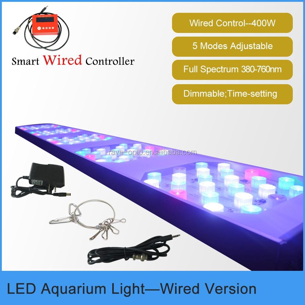 5 voeten 400 W Malibu Aquarium LED Verlichting voor vis/reef/coral ...