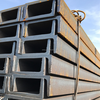 Sheet pile U Channel steel beam stell pill price