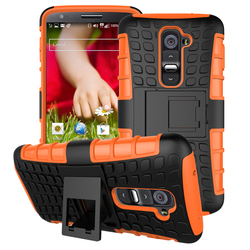 For LG G2 Case, 2in1 Armor Shockproof silicone back cover hybrid phone case wholesale