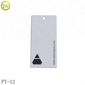 China supplier offer garment paper hang tags jewelry paper price tag for clothes