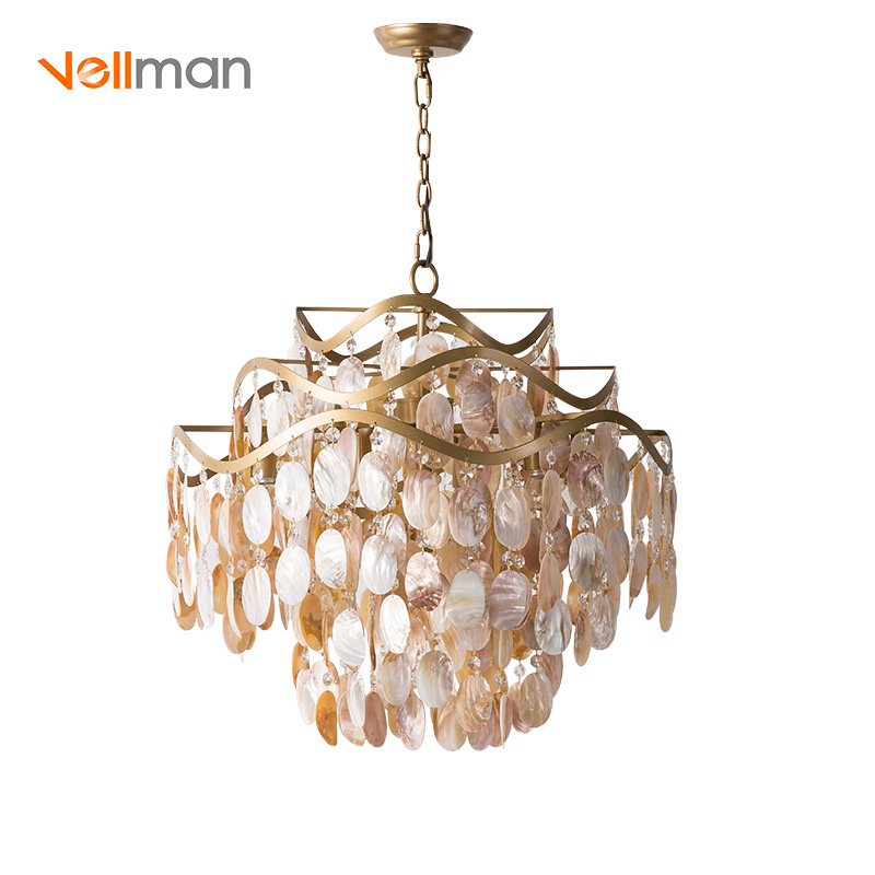 Handmade Sea Shell Polished Etl Pendant Lighting Crystal Shell Hanging Lamp Buy Luxury Shell Chandelier Hanging Lamp Fancy Pendant Lights Modern Pendant Lighting Product On Alibaba Com