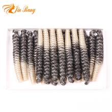 Wholesale 2018 New 80 Gram Mambo Twist Synthetic Crochet Braid Hair for Afro
